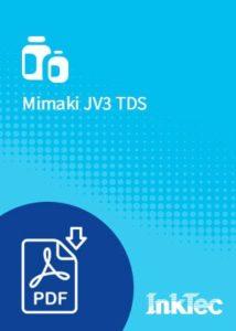 mimaki jv3 tds