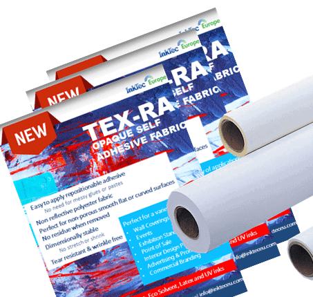 TEX-RA Opaque Self Adhesive Fabric