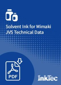 solvent ink for mimaki jv5 technical data