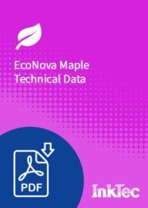 econova maple technical data