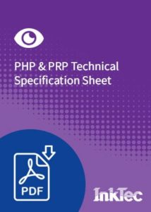 php and prp technical specification sheet