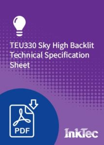 teu330 sky high backlit technical specification sheet