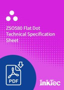 zso580 flat dot technical specification sheet