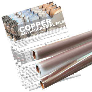 copper anti bacterial film