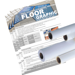 floor graphics film is ideal for inddor and outdoor applications particularly retail and tradeshows